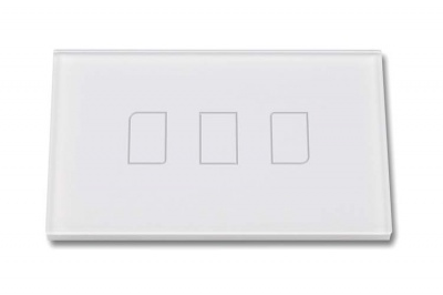 Touch Panel Controller Interruttore Smart Home Domotico Per Scatola 503 Con 3 Posizioni Touch Wireless RF433MHz